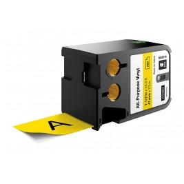 Dymo XTL Vinilinė juostelė 1868774 41mm x 7m, juodas ant geltonos
