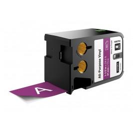 Dymo XTL Vinilinė juostelė 1868794 41mm x 7m, baltas ant violetinės