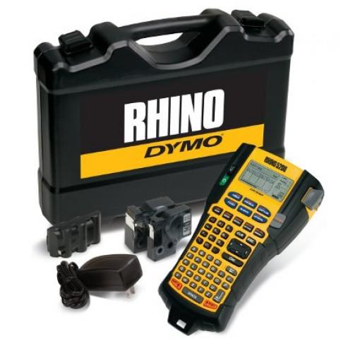 Dymo S0841430 Etikečių spausdintuvas Rhino 5200 (plastikiniame lagamine) + 1 vnt. Rhino juostelė